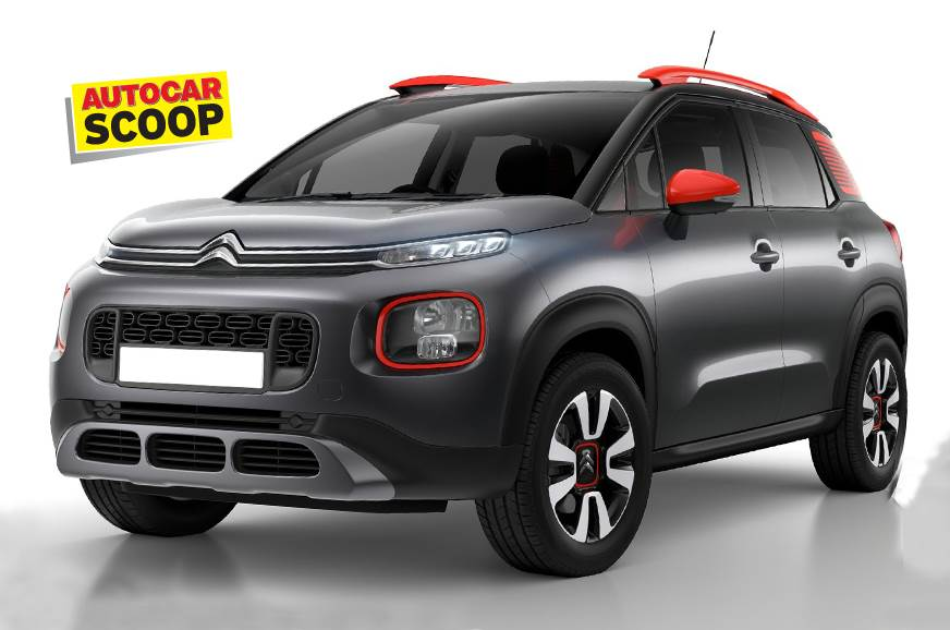 Citroen C3-based compact SUV to launch in India in 2021 ...