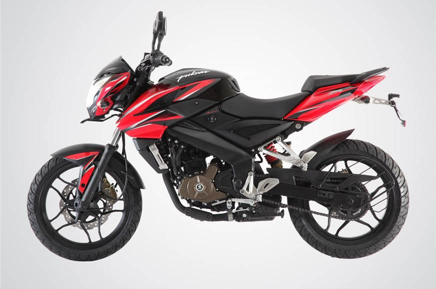 2017 Bajaj Pulsar 200NS launched in India at Rs. 96,453
