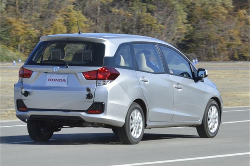 2013 New Honda Mobilio MPV review - Autocar India