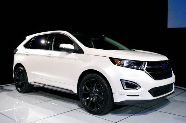 New Ford Edge Crossover Revealed Autocar India