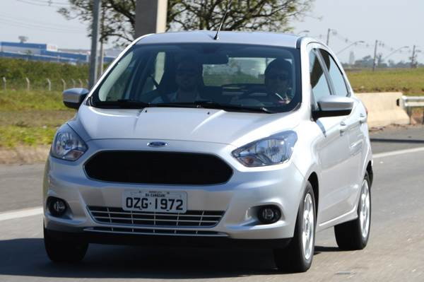 New Ford Ka Launched In Brazil Autocar India