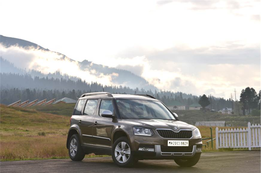 skoda yeti facelift review test drive autocar india. Black Bedroom Furniture Sets. Home Design Ideas
