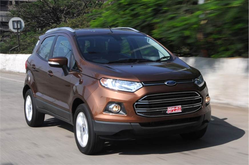 2016 ford ecosport review test drive autocar india. Black Bedroom Furniture Sets. Home Design Ideas