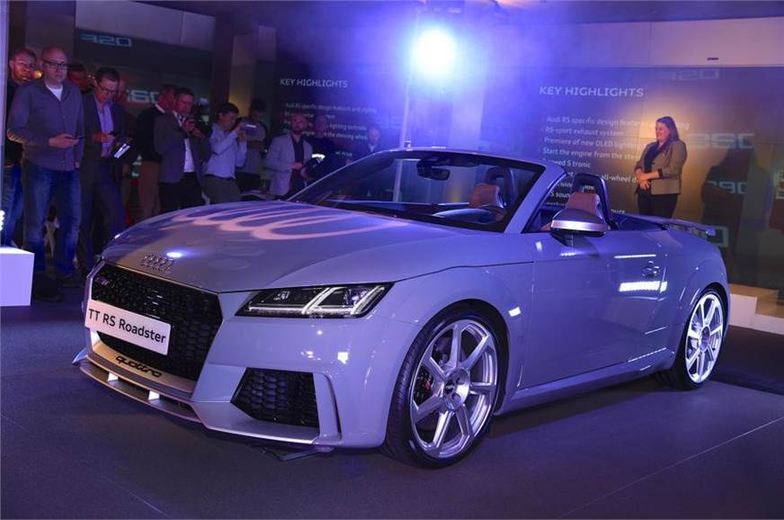 New Audi TT RS unveiled in Beijing - Autocar India