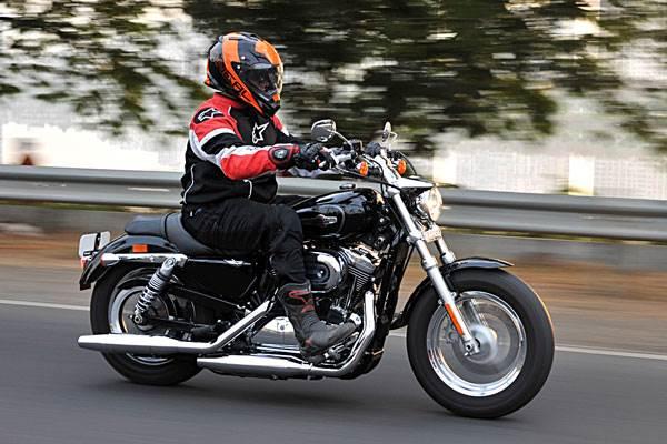 Harley Davidson 1200 Custom Review Test Ride Autocar India