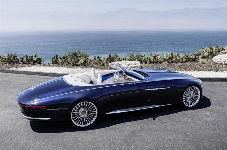 All-electric Mercedes-Maybach 6 Cabriolet concept unveiled ...