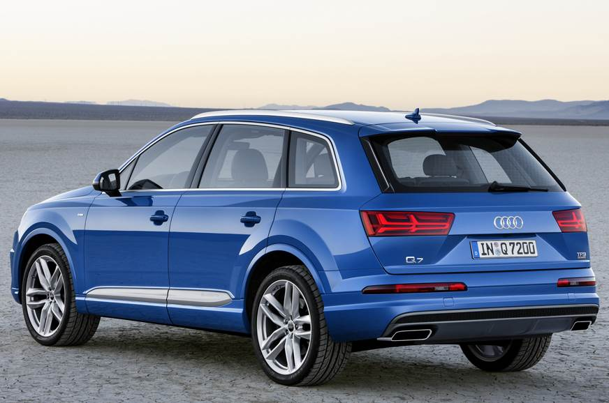 audi q7 40 tfsi to launch on september 4 2017 autocar india. Black Bedroom Furniture Sets. Home Design Ideas