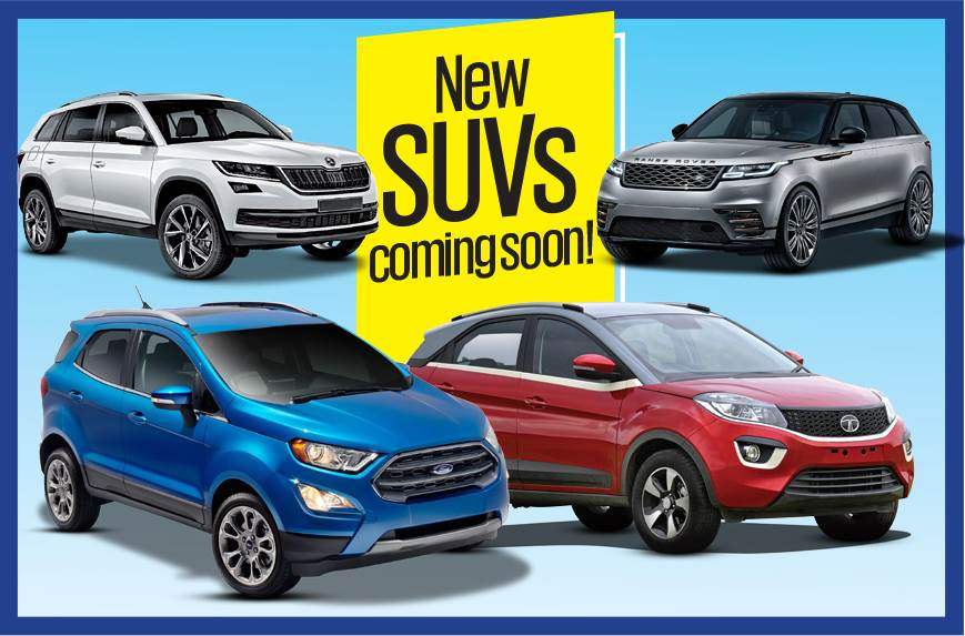 new suv launches this festive season in india autocar india. Black Bedroom Furniture Sets. Home Design Ideas