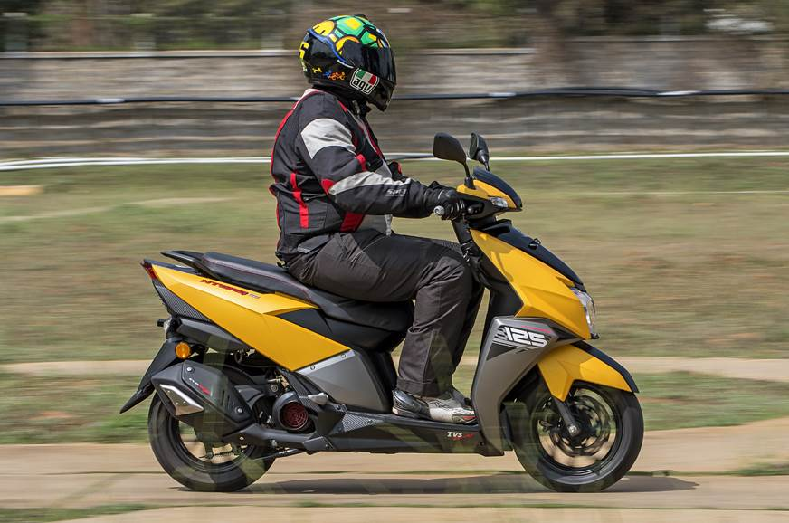 2018 tvs ntorq 125 scooter review test ride autocar india. Black Bedroom Furniture Sets. Home Design Ideas