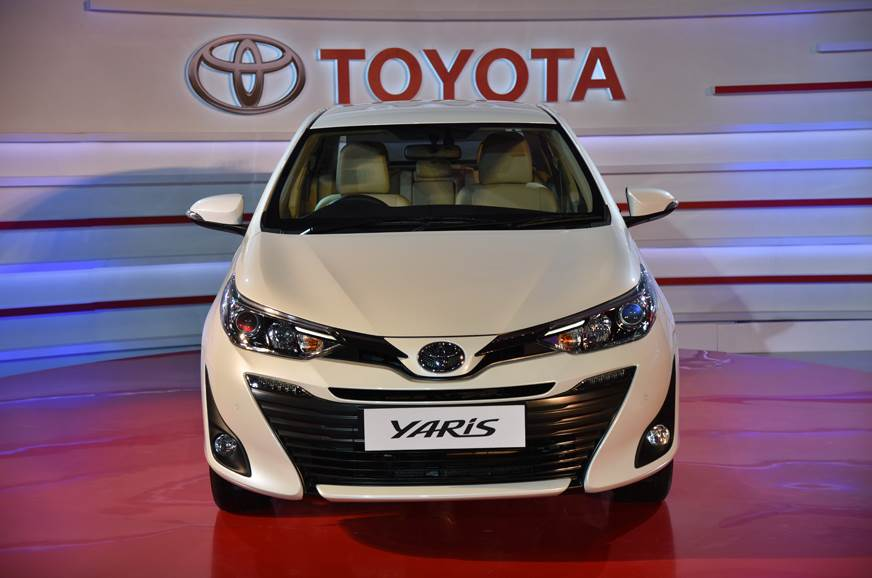 2018 Toyota Yaris Price Variants Explained Autocar India