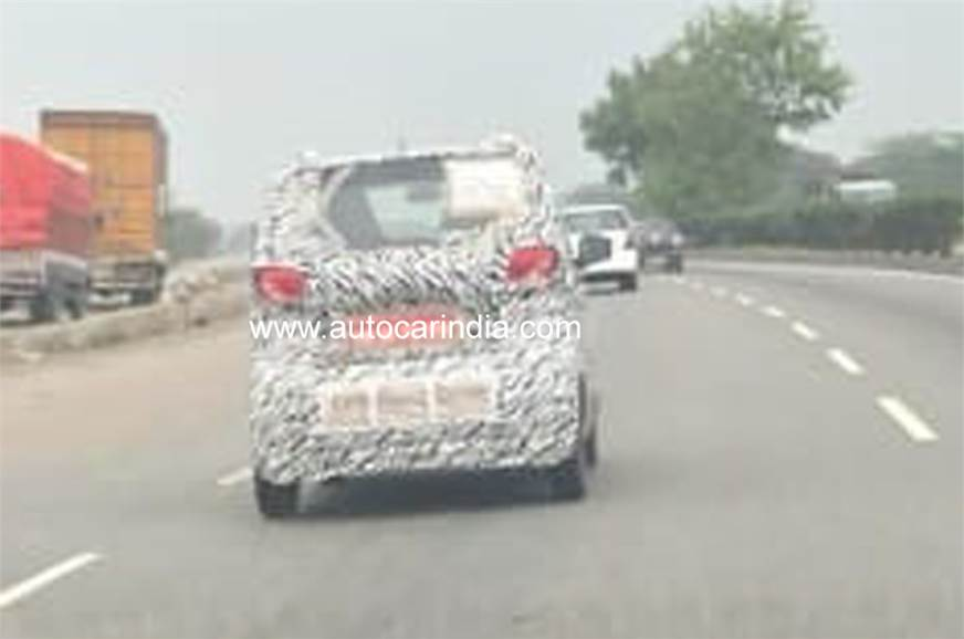 Baojun E100 EV spied in India for the first time