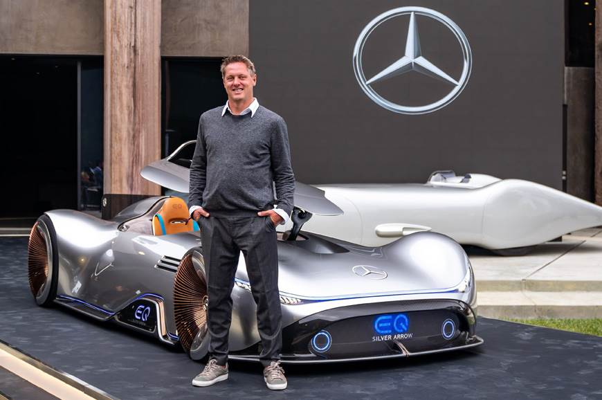 EVs will change the way cars look: Mercedes design head ...