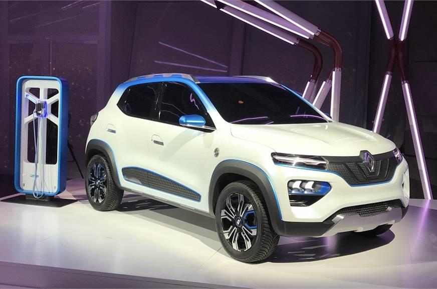 2018 Paris Motorshow: Renault K-ZE Concept Previews All