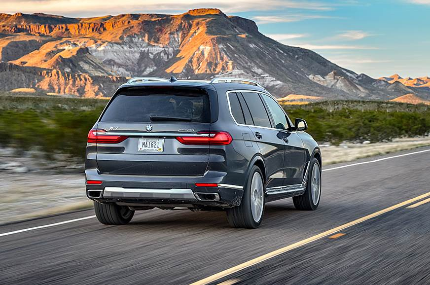 New 2019 BMW X7 SUV petrol review, test drive - Autocar India