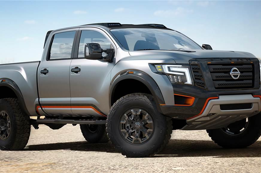 Nissan Titan Warrior concept photo gallery - Autocar India