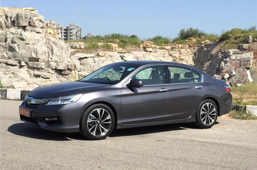 2016 honda accord hybrid image gallery autocar india. Black Bedroom Furniture Sets. Home Design Ideas