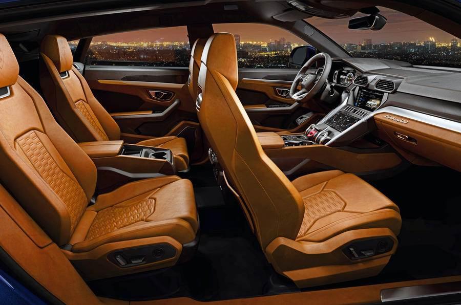 New 2018 Lamborghini Urus Images Interior And Exterior