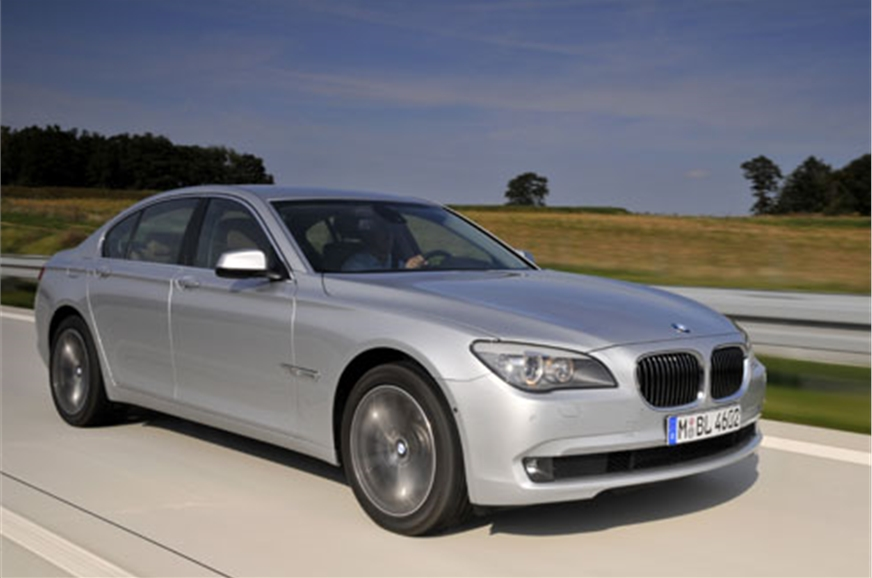 2009 bmw 750li review test drive autocar india. Black Bedroom Furniture Sets. Home Design Ideas