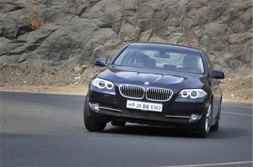 bmw 525d autocar india. Black Bedroom Furniture Sets. Home Design Ideas