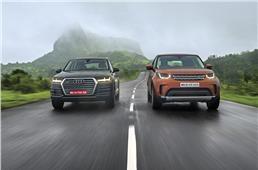 2017 Land Rover Discovery vs Audi Q7 comparison