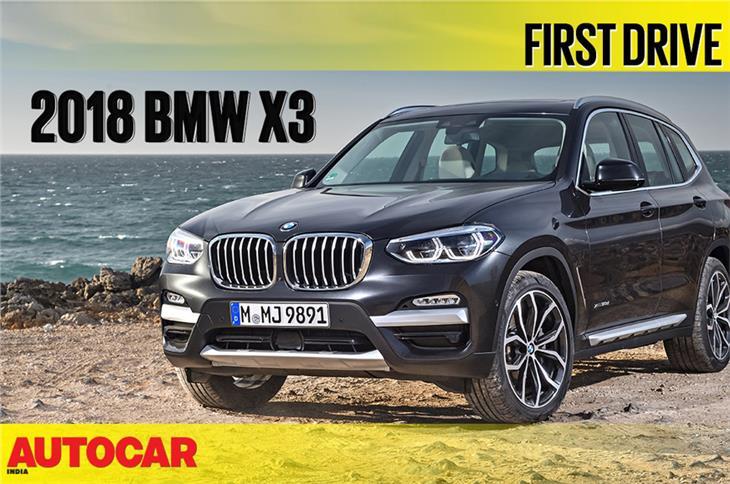 2018 BMW X3 video review