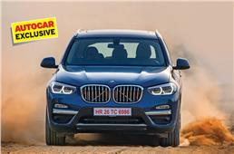 New 2018 BMW X3 India review, test drive