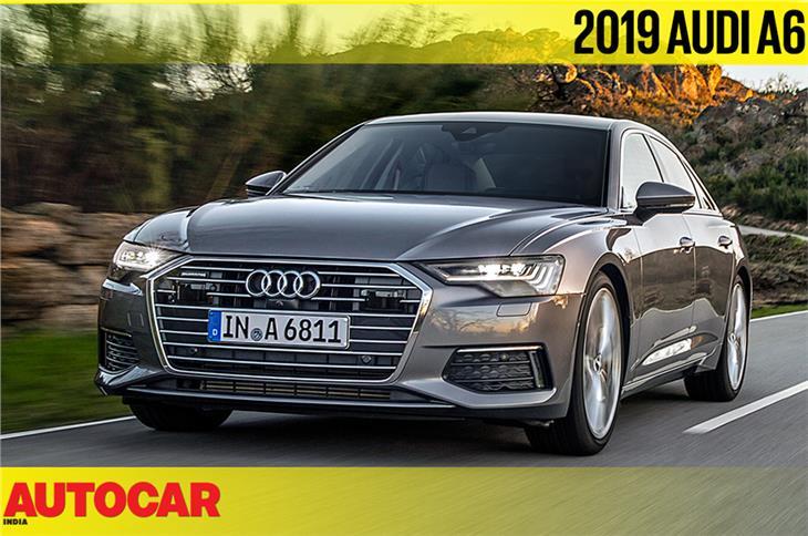 2019 Audi A6 video review