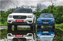 2018 Volvo XC40 vs BMW X1 comparison