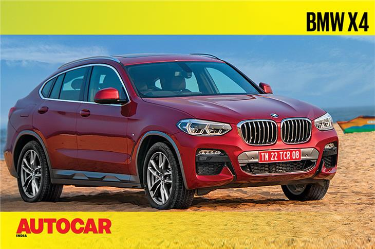 2019 BMW X4 video review