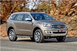 2019 Ford Endeavour facelift review, test drive