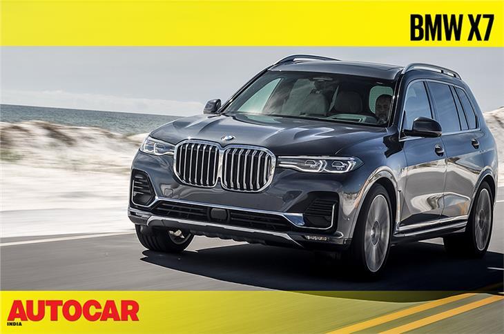2019 BMW X7 video review