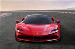 Ferrari SF90 Stradale breaks cover