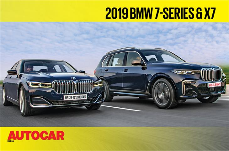 2019 BMW 7 Series facelift, BMW X7 video review