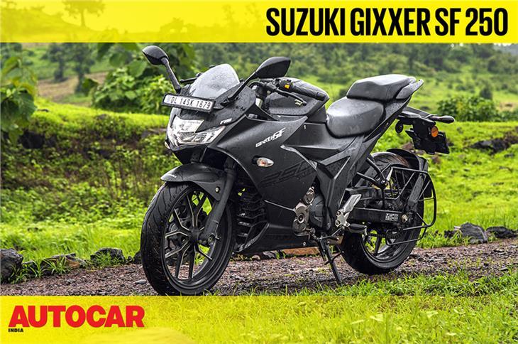 2019 Suzuki Gixxer SF 250 video review