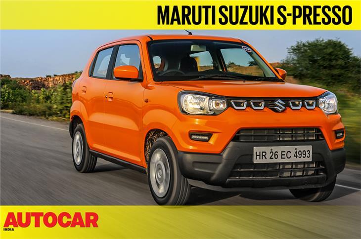 2019 Maruti Suzuki S-Presso video review