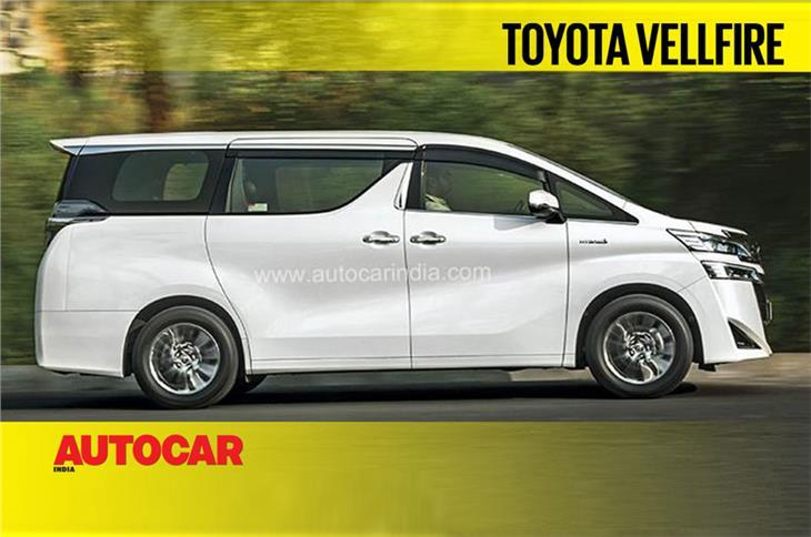 Toyota Vellfire video review