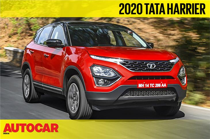 Tata Harrier diesel-automatic video review