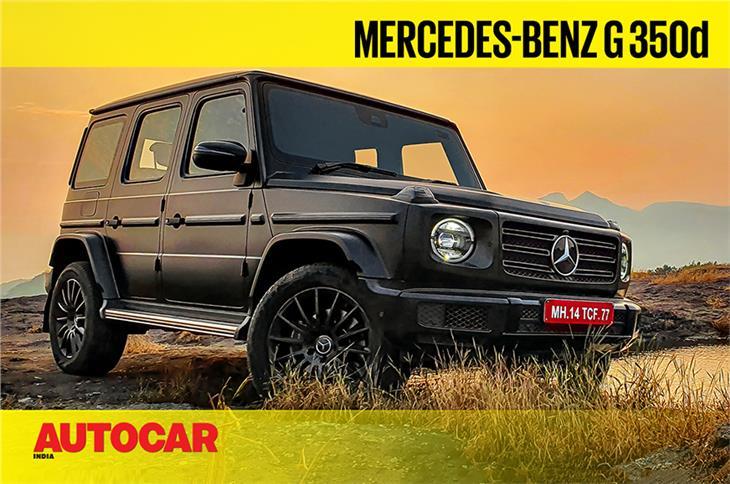 Mercedes-Benz G 350d video review