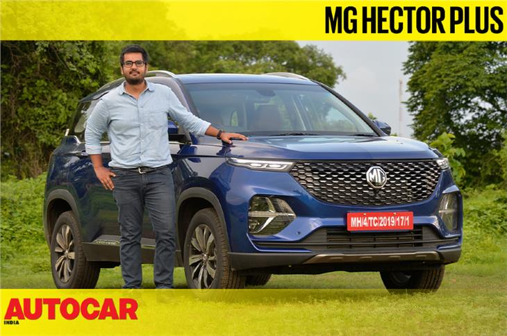 2020 MG Hector Plus video review