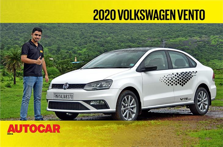 2020 Volkswagen Vento 1.0 TSI video review