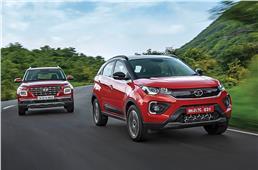 2020 Tata Nexon vs Hyundai Venue turbo-petrol comparison