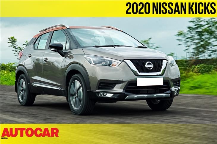 2020 Nissan Kicks turbo-petrol video review
