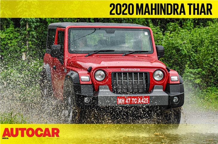 2020 Mahindra Thar first look video
