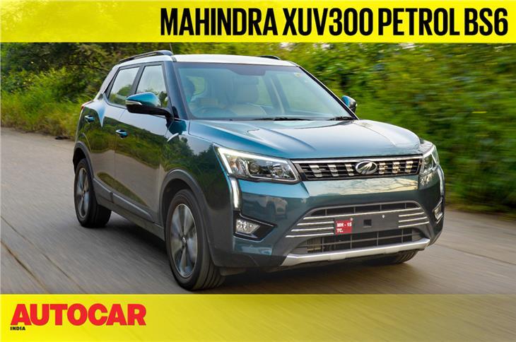 2020 Mahindra XUV300 BS6 petrol video review