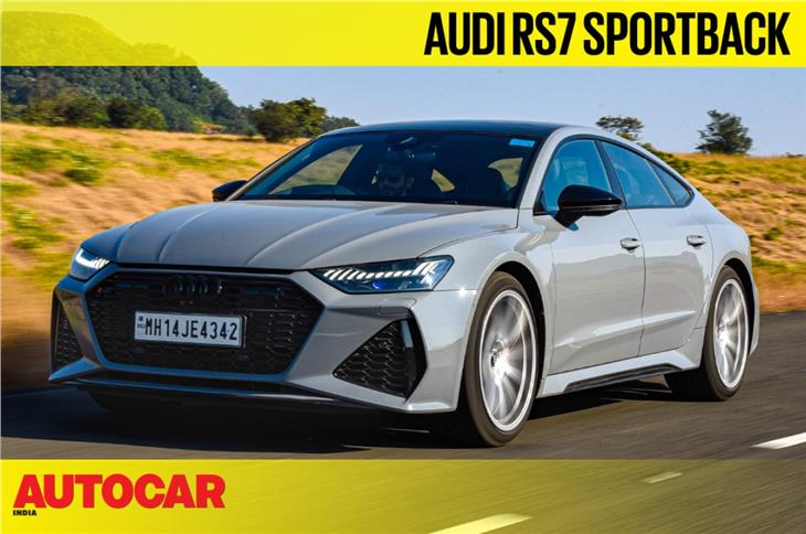 2020 Audi RS7 Sportback video review