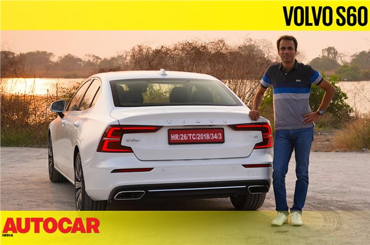 2021 Volvo S60 India video review