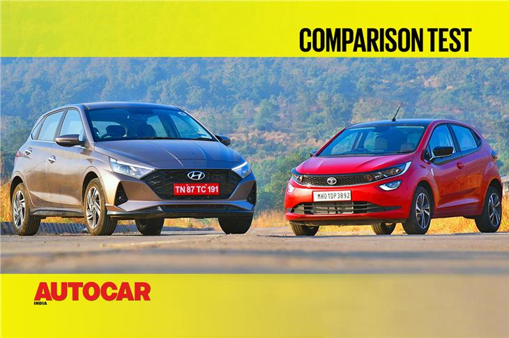 Hyundai i20 vs Tata Altroz diesel comparison video