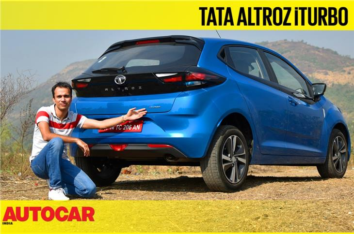 Tata Altroz iTurbo video review