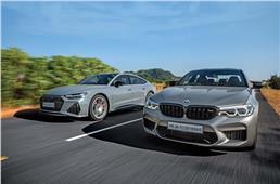 Audi RS7 Sportback vs BMW M5 Competition comparison
