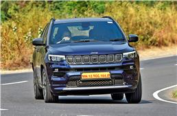 2021 Jeep Compass facelift review, test drive